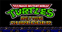 Teenage Mutant Ninja Turtles - Return of the Shredder