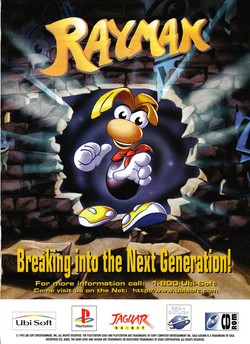 Rayman Poster