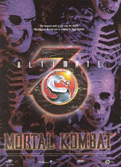 Ultimate Mortal Kombat 3 Poster