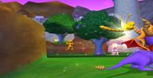 Spyro: Enter the Dragonfly GameCube Screenshot
