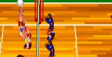 Dig and Spike Volleyball SNES Screenshot