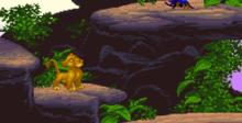 The Lion King SNES Screenshot