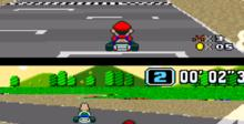 Super Mario Kart SNES Screenshot