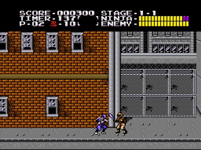 ninja gaiden trilogy track 4 1995 snes